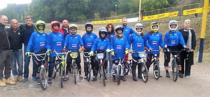 Foto Gruppo DH BMX Donne
