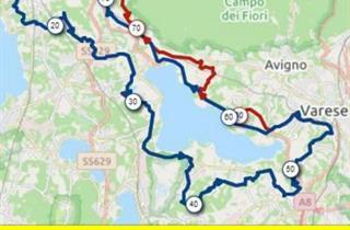 Percorso Varese Van Vlaanderen 2021