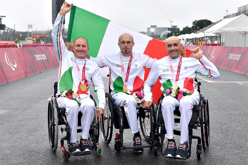 Ciclismo ITA ORO Mixed H1 5 Team Relay Ph Ferraro Bizzi Team SFA 2547 Copia