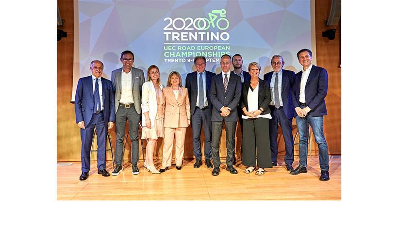 Calendario Europei2020.Europei 2020 A Trento La Citta Dello Sport Si Mette In Bici