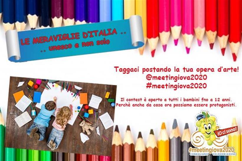 Contest Meeting Giovanissimi 2020: crea la tua opera d'arte!