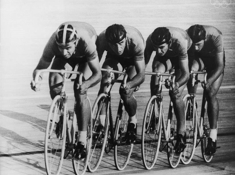 Quartetto Inseguimento Olimpiadi Di Roma