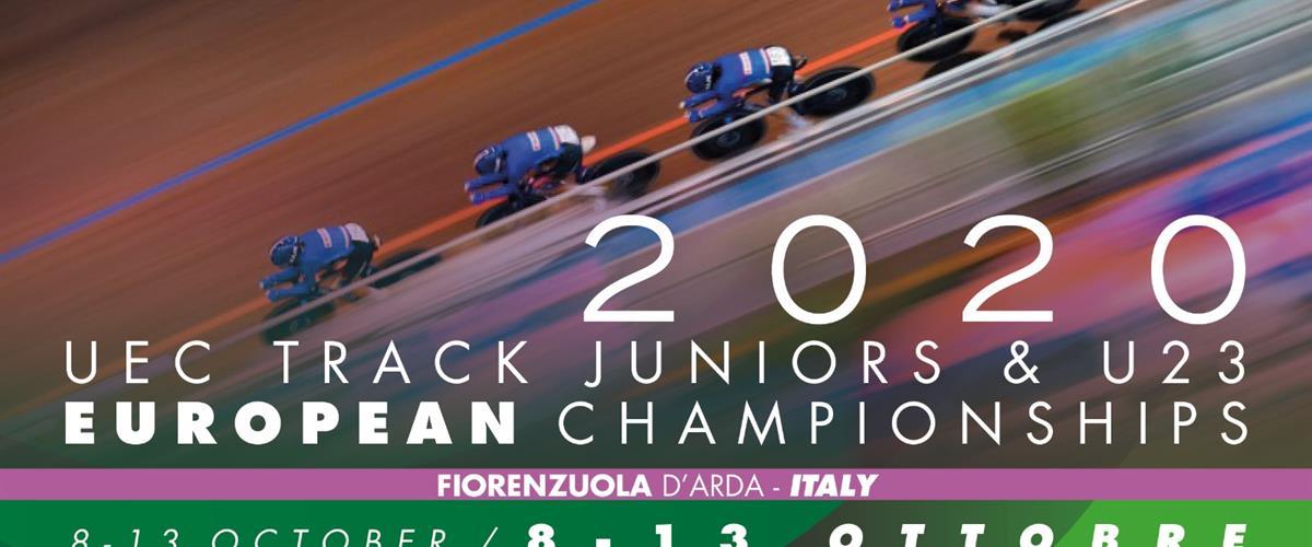 Locandina Orizzontale Euro Track2020 Jr E U23