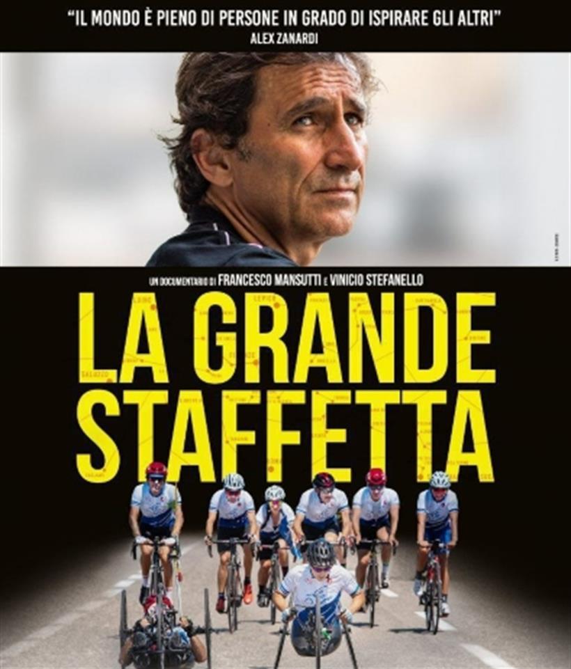 """La Grande Staffetta"""": il docu-film un anno dopo l'incidente di Zanardi"""